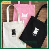 高品質の自然なショッピング綿袋(TP-SP572)