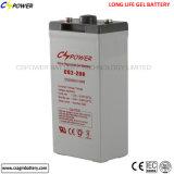 batterie d'accumulateurs de gel d'énergie éolienne 2V2000ah solaire