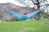 옥외 가구 하이킹을%s 경량 낙하산 휴대용 해먹을 전송한다