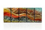 100% Handmade 추상적인 새로운 디자인 금속 벽 예술