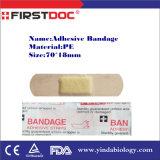 OEM / ODM م & ادارة الاغذية والعقاقير المعتمدة ISO ضمادة لاصقة / فرقة الإيدز / الإسعافات الأولية