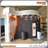 Cabina portable de la exposición de la visualización de la feria profesional de la promoción