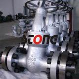 Válvula de porta do aço de carbono 150lb do aço de molde do ANSI do API RF