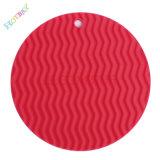 Heiße verkaufennahrungsmittelgrad-runde Form-Silikon-Platz-Matte