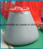 Bâches de protection enduites de PVC de qualité pour le réservoir d'eau