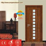 Porte décorative de PVC de conception de salle de bains moderne