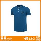 Camiseta seca del ajuste del polo de los deportes de los hombres