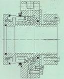 Selo mecânico para a indústria da fabricação de papel (Hz3)