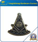 Pin Regalia Lodge Suqare Rhinestone Masonic