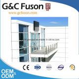 Pared de cortina de cristal de aluminio del panel de pared de la fachada del precio del material de construcción