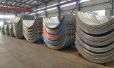 10 años de tubo de acero acanalado producido fábrica del diámetro grande para las alcantarillas del camino