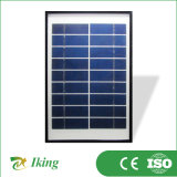 Qualité pour le poly panneau solaire 5W9V avec le bâti en plastique