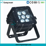 CE 7X10W RGBW LED PAR Can Light Outdoor pour l'architecture