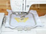 Вышивка и швейная машина компьютеризированные домочадцем для мелкия бизнеса или работы DIY