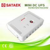 Mini bateria de lítio 12V da fonte de alimentação do CCTV do UPS 12V