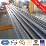 Octogonal 11.8m Galvanized Steel Tubular Поляк с Cross Arm