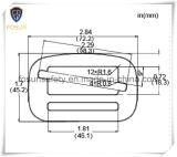 Legierter Stahl-Faltenbildungen verwendet für vollen Karosserien-Sicherheitsgurt