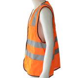 Veste reflexiva da segurança da tela de engranzamento da visibilidade elevada nova (R119)
