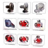 Ventilador de fluxo axial de ventilação oblíquo de Yuton