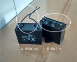 Bewegungslack-läufer und Anfangskondensator
