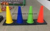 Cones macios reflexivos flexíveis da segurança de estrada do tráfego do PVC