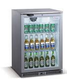 138L escolhem o refrigerador da barra da parte traseira de porta, refrigerador da cerveja com materiais do aço inoxidável para a opção