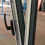 La poudre blanche de couleur de la qualité Kz302 a enduit le guichet vers l'intérieur d'inclinaison et de spire de profil en aluminium