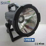 Long Range High Power Rechargeable Spotlights CREE LED Flash Light 30W 2000lumens / 3000lumens