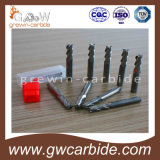 Scanalature del laminatoio di estremità del carburo di tungsteno di alta qualità 3 per alluminio