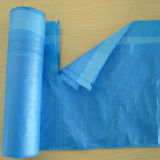 Sacchetto di plastica della fodera dello scomparto con stringa