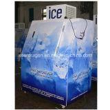 Congelador do especialista das técnicas mercantís do gelo da boa qualidade praticável para a alta temperatura ambiental