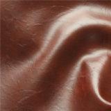 Alto cuoio Abrasione-Resistente dello Synthetic della tappezzeria del sofà della pelle della cera dell'olio