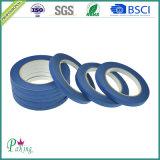 Blaues Farben-Krepp-Papier-selbsthaftendes Kreppband für Auto-Farbanstrich