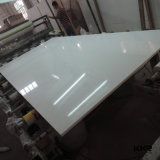 Reine weiße synthetische SteinAritificial Quarz-Platte