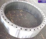 Anillo modificado para requisitos particulares surtidor del engranaje de la nuez del CNC del acero de carbón que trabaja a máquina