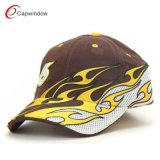 Fiamma fredda ricamata correndo il berretto da baseball della protezione (09008)