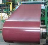 Bobina de acero cubierta polímero PPGI