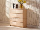 4つの引出し(N1015-4)の現代木の箱