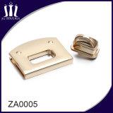 Blocage matériel en alliage de zinc de spire de sac à main de mode pour le sac