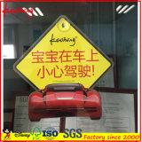 주문을 받아서 만들어지는 공장 가격 흡입 컵을%s 가진 아기 차 표시 스티커 선내에 인쇄