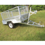 8X5 Fully Welded Box Trailers con Cage