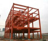 Magazzino della costruzione, tettoia dell'acciaio e pianta d'acciaio prefabbricati
