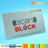 Anti-ladrão Security anti hack RFID Blocking Card para proteção
