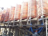Cromita Recovery Plant Spiral Chute Separator, Chromite Ore Concentrator Made em China