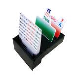 Cartões de jogo para o tamanho do clube do casino 2 1/4 * 3 1/4 de polegada