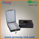 Cassaforte meccanica portatile dell'automobile con il tasto