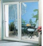 最新のデザイン二重ガラスアルミニウムスライディングウインドウ/Aluminium Windows (KW1012)