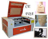 Laser Cutter 55W di CNC Mini Table