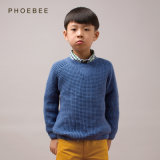 Pull bleu tricot pour garçons