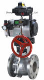 con Pneumatic Actuator + Limit Switch Box Ball Valve (Q641F)